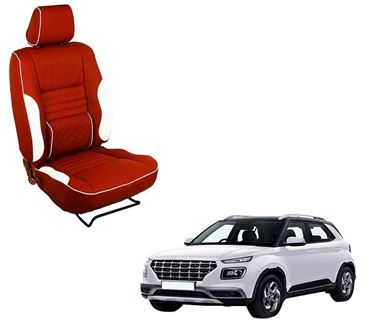 Picture of (HT-510 Roy) Hyundai Venue 2019 3D Custom PU Leather Car Seat Covers
