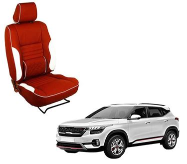 Picture of (HT-510 Roy) KIA Seltos 2019 3D Custom PU Leather Car Seat Covers