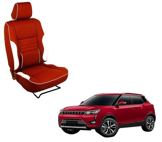 Picture of (HT-510 Roy) Mahindra XUV300 2019 3D Custom PU Leather Car Seat Covers