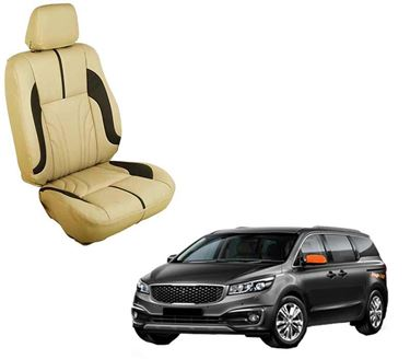 Picture of (HT-511 Sober) KIA Carnival 7S 2020 3D Custom PU Leather Car Seat Covers