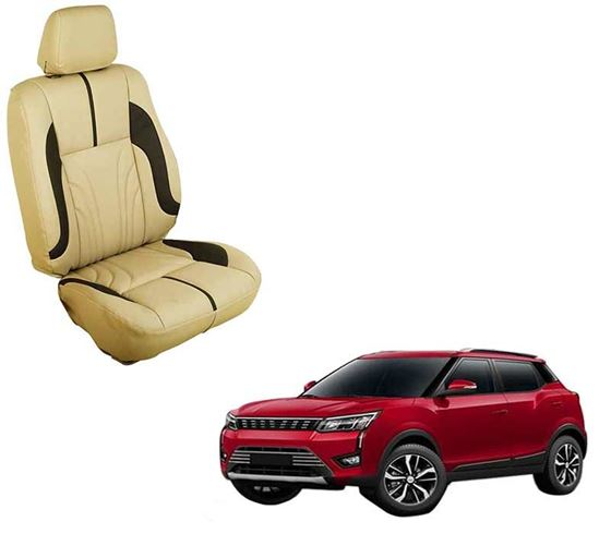 Picture of (HT-511 Sober) Mahindra XUV300 2019 3D Custom PU Leather Car Seat Covers