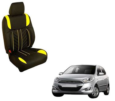Picture of (HT-512 Flame) Hyundai Grand i10 Old 3D Custom PU Leather Car Seat Covers