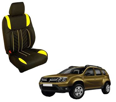 Picture of (HT-512 Flame) Renault Duster 3D Custom PU Leather Car Seat Covers