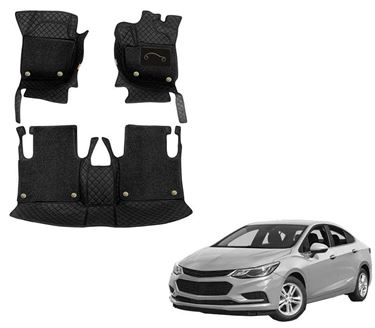 Picture of 7D Luxury Custom Fitted Car Mats For Chevrolet Cruze - Black