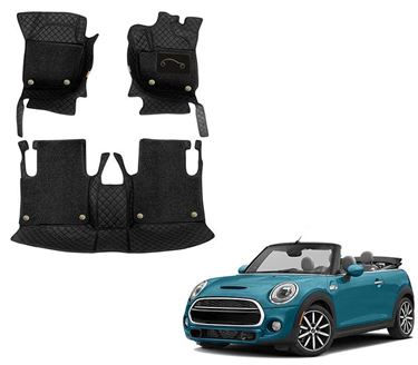 Picture of 7D Luxury Custom Fitted Car Mats For Mini Cooper S Convertible 2020 - Black