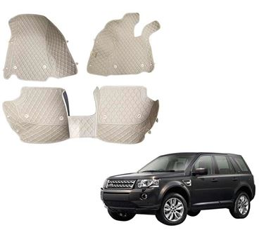 Picture of 5D Premium Custom Fitted Car Mats For Land Rover Freelander 2 2013 - Beige