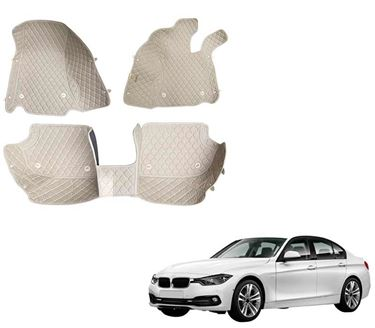 Picture of 5D Premium Custom Fitted Car Mats For BMW 320d - Beige