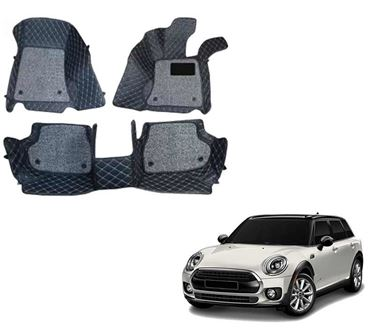 Picture of ULS 7D Economy Custom Fitted Car Mats For Mini Cooper S Clubman 2020 - Black