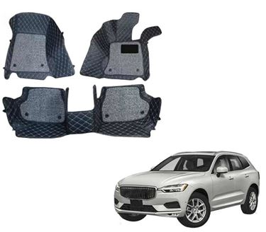 Picture of ULS 7D Economy Custom Fitted Car Mats For Volvo XC60 2015 - Black
