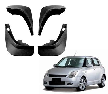 Picture of Mud Flap for Maruti Swift (Type-II) 2004-2010