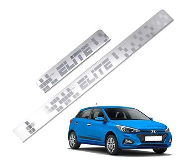 Picture of Galio Car Door Sill Scuff Plate Foot Step for Hyundai i20 Elite 2014 Onwards