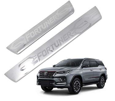 Picture of Galio Car Door Sill Scuff Plate Foot Step for Toyota Fortuner (2009-2016)