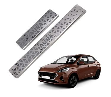 Picture of Galio Car Door Sill Scuff Plate Foot Step for Hyundai Aura 2019