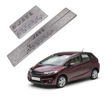 Picture of Galio Car Door Sill Scuff Plate Foot Step for Honda Jazz 2015 Onwards