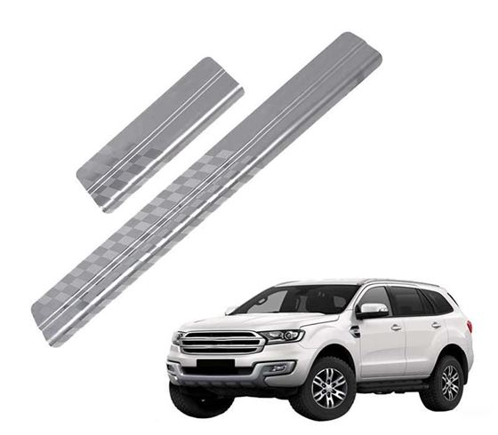 Picture of Galio Car Door Sill Scuff Plate Foot Step for Ford Endeavour 2017 Onwards