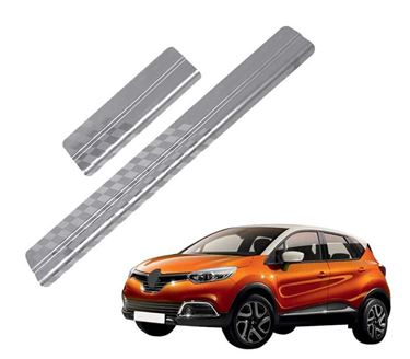 Picture of Galio Car Door Sill Scuff Plate Foot Step for Renault Captur 2016 Onwards