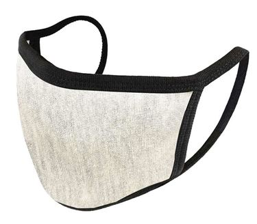 Picture of Unisex Pure Cotton Cloth Protective Anti-pollution, Washable, Reusable Face Cover Cloth for Men and Women - Color Light Grey
