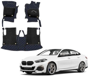 Picture of 7D Luxury Custom Fitted Car Mats For BMW 2 Series 2021 - Black Blue