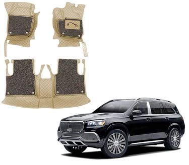 Picture of 7D Luxury Custom Fitted Car Mats For Mercedes GLS Maybach 600 4MATIC 2021 - Beige