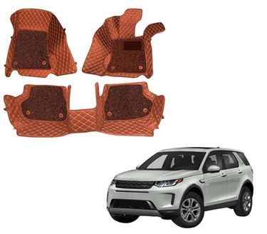 Picture of ULS 7D Economy Custom Fitted Car Mats For Land Rover Discovery Sport HSE 2020 (5 Seater) - Tan