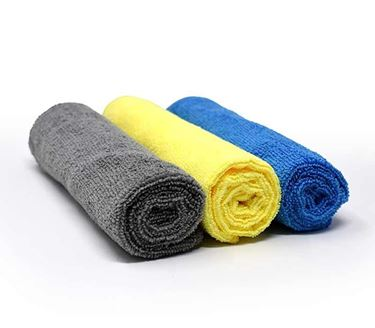 Picture of GFX Microfiber Cloth - 400*400 mm (Blue,Yellow,Grey) Assorted Colors