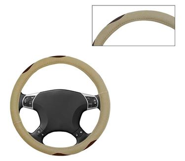 Picture of Leatherite Car Steering Cover For All Cars - Bay Beige