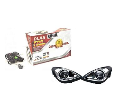 Picture of Dlaa Fog Light Lamp with Bulb for Nissan Micra