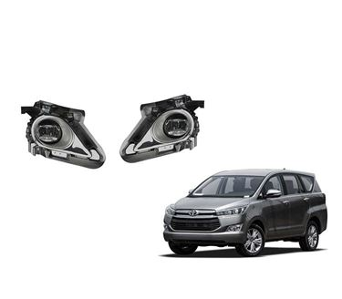 Picture of Dlaa Fog Light Lamp with Bulb for Toyota Innova Crysta